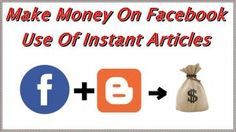 Steps On How to register Blogger Blogs on Facebook Audience Network ads with Instant Article 2017