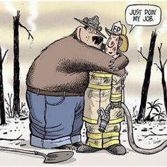 Thank you, Firefighters!!