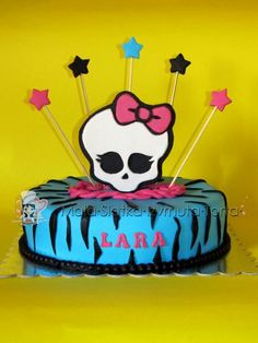 Monster high cake - for my nieces birthday next month.