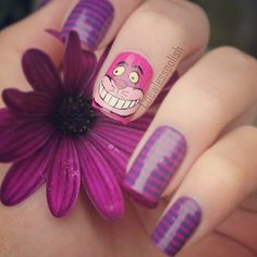 Cheshire the cat, Alice in Wonderland nails