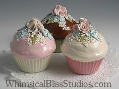 Whimsical Bliss Studios - Victorian Cupcakes