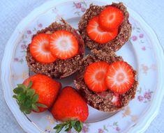 Recept: Vegan Strawberry Muffins