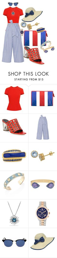 """Got to be more careful about time"" by blujay1126 ❤ liked on Polyvore featuring Roland Mouret, Balenciaga, Proenza Schouler, By Malene Birger, Konstantino, TIARA, Valentino, Loren Hope, David Yurman and MICHAEL Michael Kors"