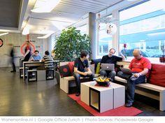 Binnengluren bij: Google Zürich #interieur #inspiratie