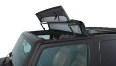 Bestop - Sunrider® for Hartop. Feel the wind in your hair and the sun's warmth on your face. Just flip back the Sunrider for Hardtop and you instantly have open-air fun. It's all-weather, all-purpose, all-year and now – all yours. 4 Door Wrangler, 2017 Jeep Wrangler, Jeep Wrangler Sahara, Jeep Jku, Jeep Wrangler Accessories, Jeep Accessories, Camper Van Conversion Diy, Jeep Truck, Jeep Life