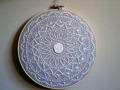 mandala embroidery inspiration