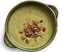 Cold Avocado Soup with Chile-Lime Pepitas