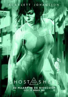 GHOST IN THE CHELL is een Amerikaanse sciencefiction-actiefilm uit 2017, geregisseerd door Rupert Sanders. De film is gebaseerd op de Japanse manga en anime met dezelfde naam van Masamune Shirow. Met in de hoofdrol Scarlett Johannson.