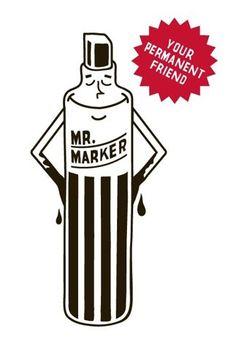 Mr. Marker- Your Permanent Friend