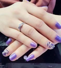 Violet White Fun Nails, Amazing, Beauty, Beauty Illustration