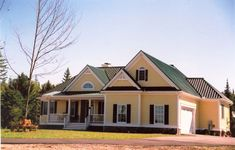 Vertical rib steel roofing from Ideal Roofing Co. Ltd. Visit steelroofsource.com for more information. Steel Roofing, Protecting Your Home, Metal Roof, Ribs, Cabin, Mansions, House Styles, Canada, English
