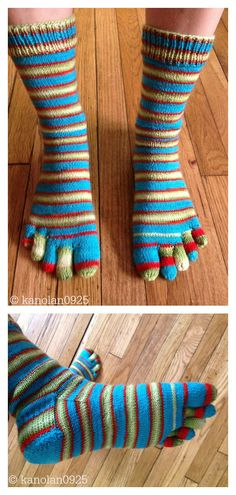 Basic Toe Sock Free Knitting Pattern – Knitting Models and Suggestions Knitted Socks Free Pattern, Crochet Socks, Crochet Yarn, Knitting Patterns Free, Knit Patterns, Free Knitting, Knit Socks, Knitting Tutorials, Knitted Slippers