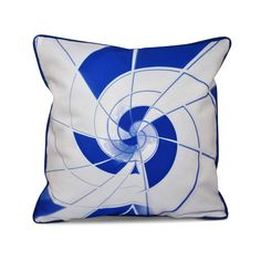 E by Design Art in Architecture Inside Out Designs Print 18 x 18-inch Pillow