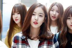 dedicated to female kpop idols. Gfriend Profile, Sinb Gfriend, Fan Picture, G Friend, Dance Moves, Airport Style, Rapper, Kpop, Long Hair Styles