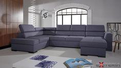 Rozkladacia sedacia súprava Malvina 1 v tvare písmena U #sofa #divan #couch #settee