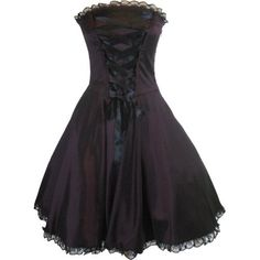 Skelapparel Plus Size Gothic Rockabilly Purple Satin Corset Lace-up Dress Skelapparel, http://www.amazon.com/dp/B00A3UUE76/ref=cm_sw_r_pi_dp_vmicrb1HFB8KS