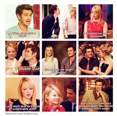 Andrew Garfield & Emma Stone... IF YOU EVER BREAK UP, I WILL HUNT YOU DOWN AND BEAT YOU.