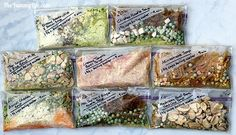 Have yourecently deiscovere a new love of camping or backpacking? You may be overwhelmed by all the options when packing food. Hiking Food, Backpacking Food, Camping Meals, Ultralight Backpacking, Camping Recipes, Hiking Tips, Hiking Gear, Dry Soup Mix, Soup Mixes