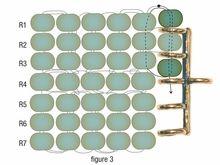 Añadir broche de anillas a nuestro trabajo de telar