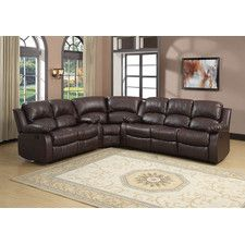 reno sectional leather reclining sofaleather - Sectional Leather Sofas