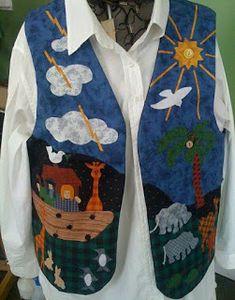 Girl Dress Patterns, Clothing Patterns, Jacket Style Kurti, Denim Vests, Bird Applique, Vest Pattern, Sewing Appliques, Patchwork Dress, Quilted Vest