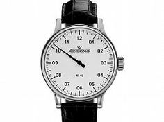 MeisterSinger No. 01 Manual Wind Silver Dial
