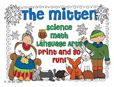 The Mitten Freebies and Links - First Grade Blue Skies