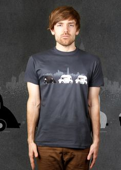 On The Road T-Shirt | Design by Flying Mouse $19.95