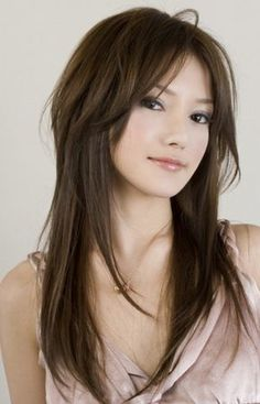 Looking for the best long layered haircuts for a fresher look? In our gallery you will find the best images of Best Long Layered Haircuts that you may want Stylish Haircuts, Haircuts For Fine Hair, Hairstyles Haircuts, Asian Hairstyles, Choppy Haircuts, Female Hairstyles, Long Length Haircuts, Long Layered Haircuts, Layered Hairstyles