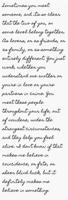 My thoughts about you, my love....