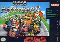Super Mario Kart- released in North America in 1992.