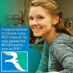 Congratulations to Cecilia Luna 16 who passed the #NCLEX and is now an R.N. Way to go! #nursing #rccfall  #transferclass #rappahannock #community #college #NNKVA #comm_college #rccfall #newkent #kinggeorge #warsaw #Gloucester #nnk #northernneck #glenns #northernneckva #middlepeninsula #midpenva
