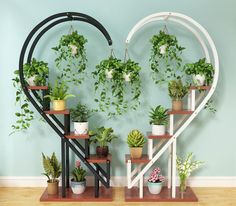 Living room household flower shelf, multistorey indoor balcony iron circular shelf, decorative green lotus pendant orchid shelf is part of Plant decor - Indoor Balcony, Indoor Garden, Indoor Plants, Iron Balcony, House Plants Decor, Plant Decor, Garden Rack, Garden Trowel, Household Plants