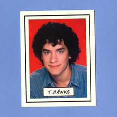 TOM HANKS THANKS - Funny Thank You Card on Etsy, $4.00