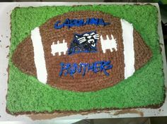 Carolina Panthers cake By heathermeece on CakeCentral.com