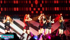 "[120922] Girls' Generation performing ""Run Devil Run"" on SM Town Jakarta. #SNSD #GirlsGeneration #HyoYeon #Tiffany #Seohyun #Taeyeon"