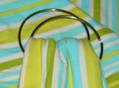 Fabric Guide and other supplies info for making your own DIY woven baby sling or wrap carrier