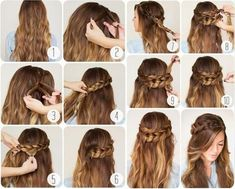 I explained many hairstyle tips Beautiful Quick & Easy Hairstyles in 2 Minutes Ready for Work or School The easiest, everyday, cool and practical hairstyles with you. Best Quick & Easy Hairstyles for Work or School Let's see it all together! Try Different Hairstyles, Easy Work Hairstyles, College Hairstyles, Quick Hairstyles For School, Graduation Hairstyles, Step By Step Hairstyles, Braided Hairstyles, Beach Hairstyles, Hairstyles 2018