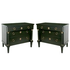 Pair of Baker Commode/Chests in the Manner of Jansen