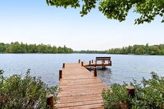 Lakefront home on private peninsula w/ 2 piers & lovely water views - 2 dogs OK! - Houses for Rent in Eagle River, Wisconsin, United States Eagle River, Lakefront Homes, Screened In Porch, River House, Lake View, Great View, Renting A House, United States, Vacation