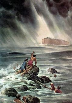 Noah tried to tell them.as do Jehovah's Witnesses today. Jehovah used Noah back then, and today he is using HIS Witnesses. Destruction for the wicked people today, is close at hand as Jesus said at Matthew Read it in your own Bible. Bible Pictures, Jesus Pictures, Psalm 133, Image Jesus, Religion Catolica, Jesus Christus, Biblical Art, Bible Truth, Jehovah's Witnesses