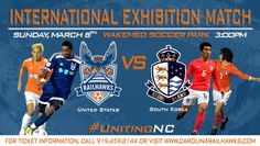 South Korean Professional Soccer Team Coming to Train and Play at WakeMed Soccer Park - http://www.beachcarolina.com/2015/02/11/south-korean-professional-soccer-team-coming-to-train-and-play-at-wakemed-soccer-park/ Carolina RailHawks to face former coach Martin Rennie's Seoul E-Land FC  CARY, NC Feb. 11, 2015 – The 7th Annual Hilton Garden Inn Durham Southpoint Community Shield Match will see Seoul E-Land FC journey to WakeMed Soccer Park on Sunday, March 8th to face the