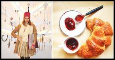 Crazy Croissant Look/ Fashion & Food