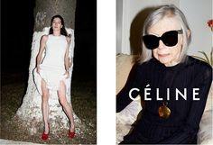 Céline Spring/Summer 15 Campaign - Helena Bordon