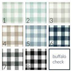 10 OFF Buffalo Check Drapery Panels Pair Of Two 63 84 90 96 108 Length Plaid Gingham Custom Window Treatments