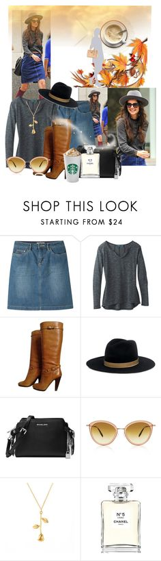 """""""Untitled #9168"""" by princhelle-mack ❤ liked on Polyvore featuring Mountain Khakis, prAna, Ash, Janessa Leone, Michael Kors, Oliver Peoples and Chanel"""