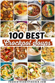 Vegetarian Crockpot Soup, Easy Crockpot Soup, Healthy Chicken Soup, Gourmet Chicken, Chicken Soups, Crock Pot Soup, Crockpot Dishes, Slow Cooker Soup, Healthy Crockpot Recipes