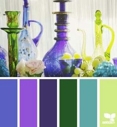#Farbbberatung #Stilberatung #Farbenreich mit www.farben-reich.com Glass hues