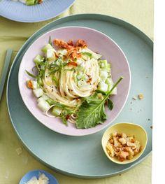 Kohlrabi-Pasta - Frühlingshafte Nudelgerichte - [LIVING AT HOME]
