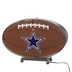 Dallas Cowboys Team Ball Lamp